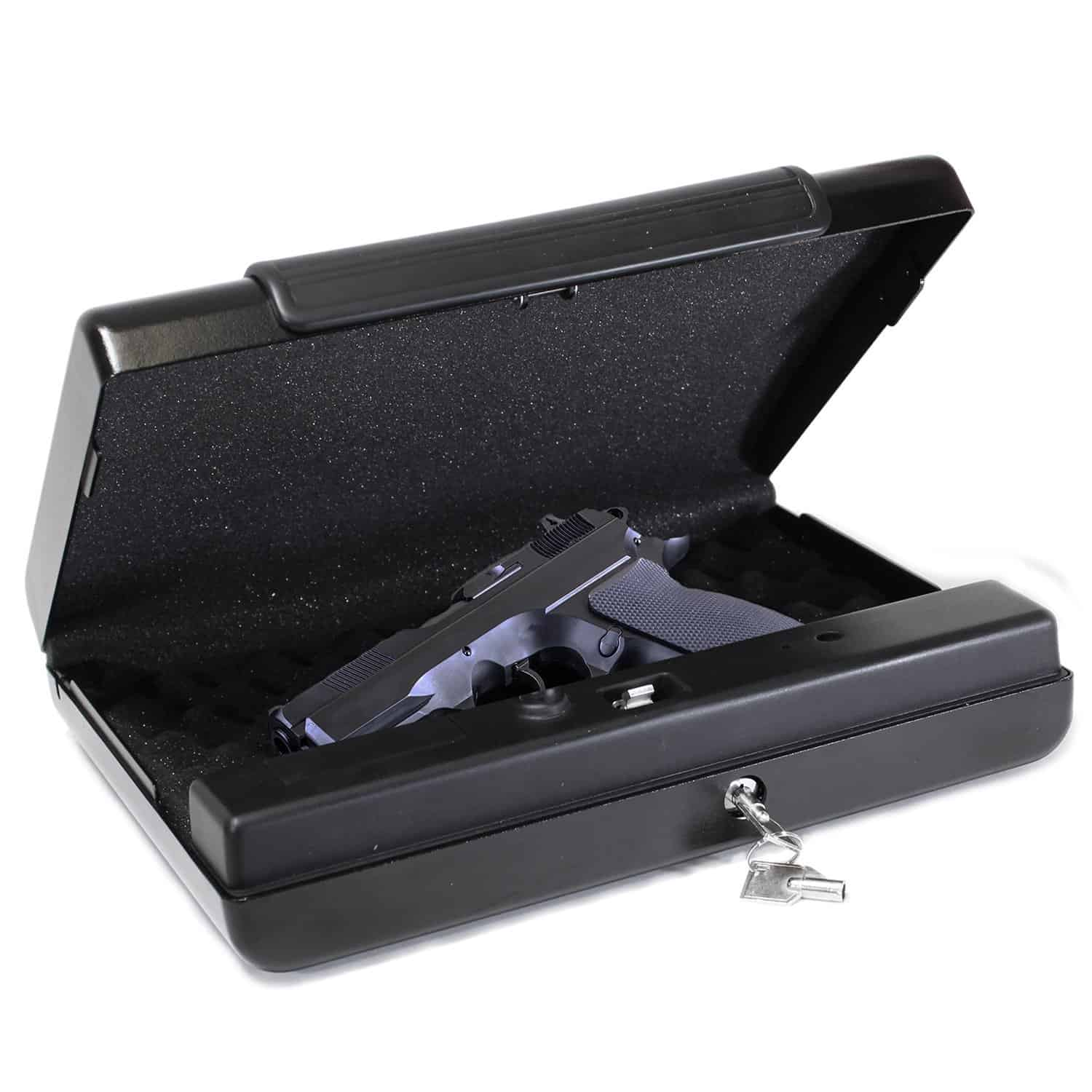 First Alert 5200DF Portable Handgun or Pistol Safe Review