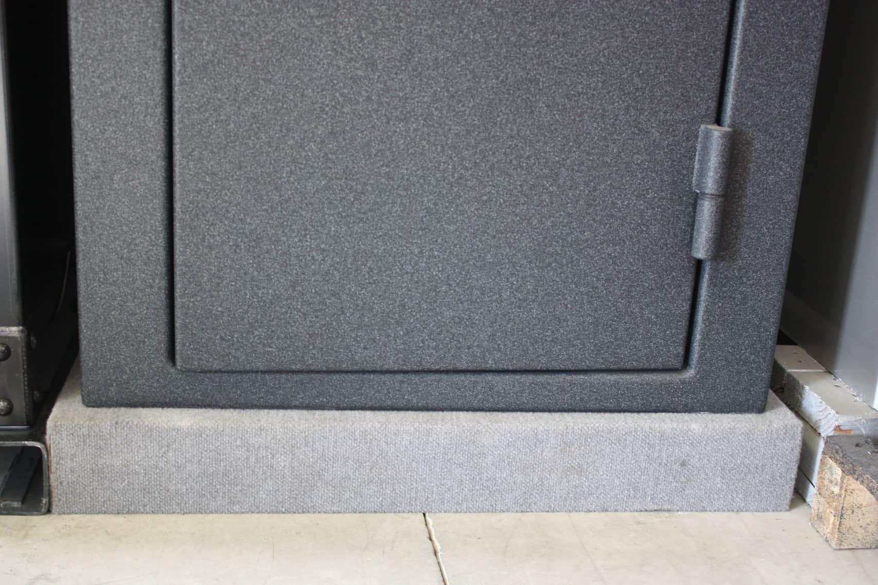 Best Floor Mats >> Best Way To Bolt Down A Safe (Gun Safe Tips!) | Gun Safe Guru