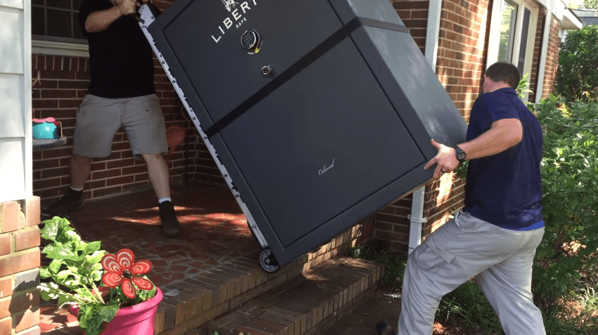 how to move your gun safe easily