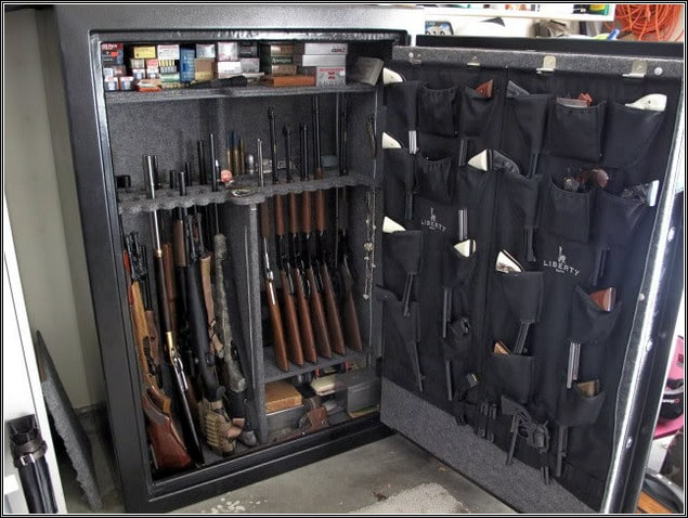 best gun safe door organizer
