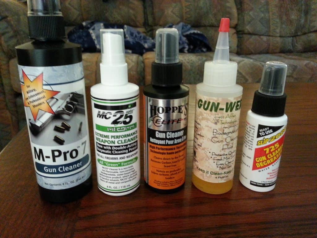 best gun cleaning solvent